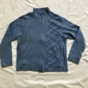 Ted Baker London Full zip sweater -size L